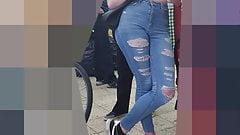 German blond Teen Girl SpyCam