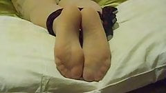 Soft sexy soles fondled and tickled