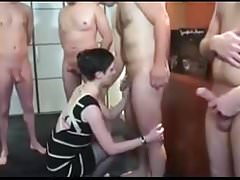 Cuck Husband shared wife with 5 men