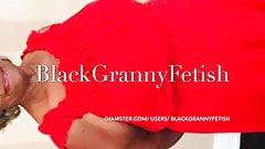 Black BBW Mature Upskirt