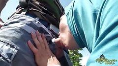 Nafila Essid est bonne aide soignante sur le Beurette Tour's Thumb