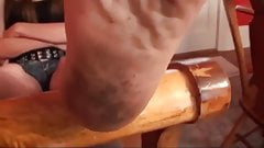 Beautiful precious feet soles pov