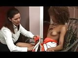 Extremely Passionate Interracial Lesbian Lovemaking