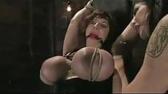 HOT LESBIAN BDSM AND FISTING PLAY