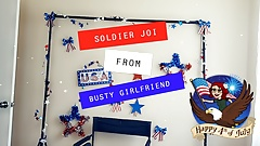 Soldier JOI from Busty Girlfriend