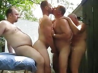 summer morning sex party for daddies