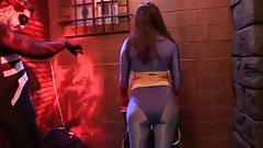 Superheroine Sinn Sage gets fucked