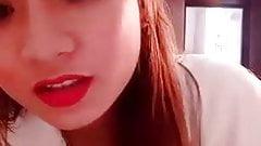 Cute lady doing selfiee 3.mp4