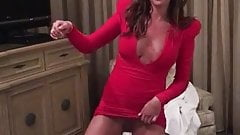 Danielle Lloyd showing her pussy on homemade video