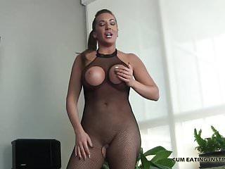 I make all my men taste their own cum CEI