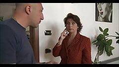 Italian big boobs housewife fucks the plumber