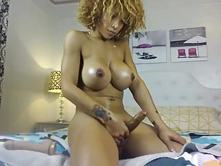 Sexy big cock tgirl on cam