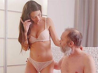 Daddyk Mature Dad Receives Blowjob And Fucks Teen Shaved
