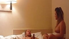 Cheating GF Fucks and Sucks in Motel 6