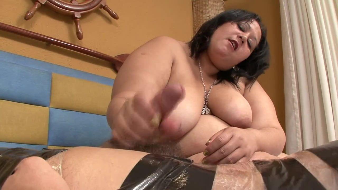 Mature hand jobs with panties
