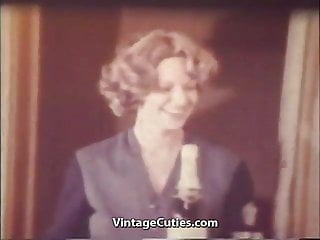Girl Sucks and Fucks a Really Big Dick (1970s Vintage)