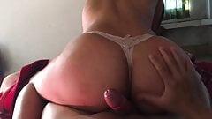Hot ass bubble butt girlfriend cowgirl