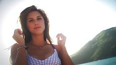 Alex Morgan Bikini Photoshoot Behind the Scenes