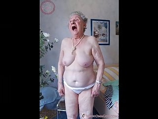 OmaGeiL Grandmas Captured Naked in Compilation