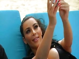Kim K bikini clip