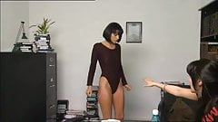 Casting girl goes naked