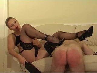 Milf shows microcock guy she is boss