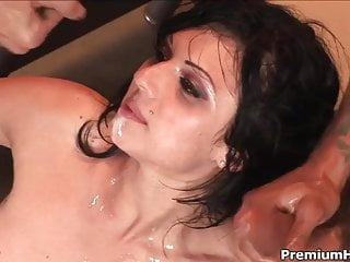 Ava Rose Takes Four Dick By Turn