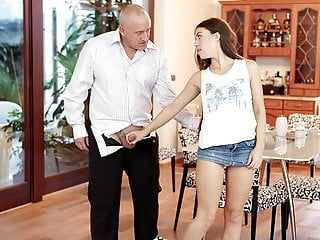 DADDY4K. Having good time with father of her bf