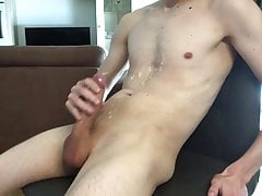 a small second cumshot on my body today (18.05.18)