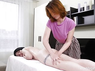 TeenMegaWorld - Beauty-Angels - Full body massage with dildo