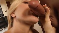 Elegant Blonde Milf - Stockings Anal
