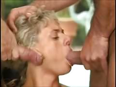 Hard Outdoor Orgy With Pissing