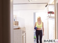 Babes - Step Mom Lessons - Spying Eyes starring Matt Ice and