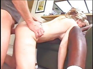 A Blond Wife Gets Shared By Hubby And Black Dude