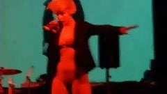 spanish group dirty princess nude pantyless on stage