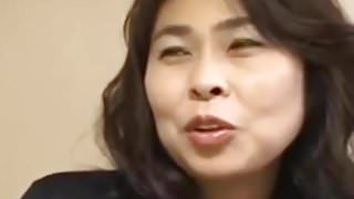 Amature Japanese MILF, the first time of appearance in Porno