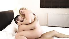 DaringSex.com Happy couple do it in bed