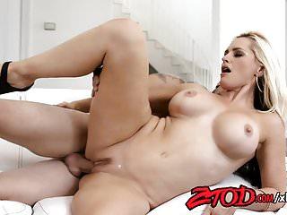 MILF Alena Croft Sucks and Gets Fucked