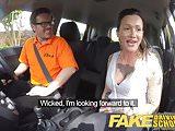 Fake Driving School Messy creampie advanced lesson