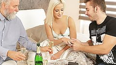 DADDY4K. Beautiful blonde embarks morning sex with...'s Thumb