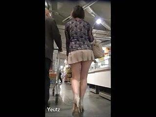 Isadore recommend best of milf panties upskirt mini dress no