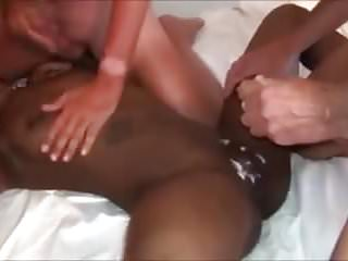 Hot Gangbang Amateur Sweet Black vs White Dicks