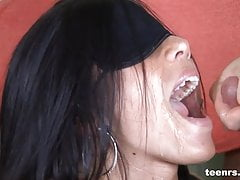 Teenrs.com Teen gets a warm load in her face's Thumb