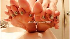 Foot Fetish - Kristy Feet Video 3