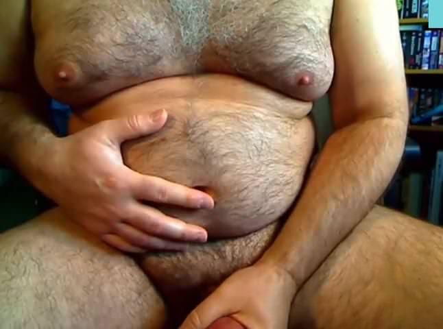 Gemischtrassiger Jung Fetter Orgasmus
