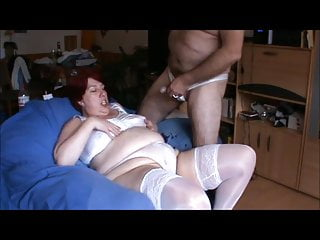The slut fucked and pissed in underwear