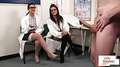 CFNM voyeur doctors giving JOI at the office's Thumb