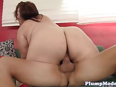 Massivetits bbw beauty banged in her twat