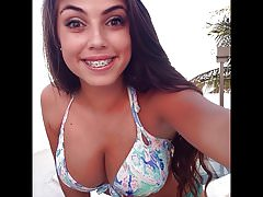 Jerkoff challenge cleavage teen 3