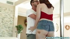 Bigass teasing Jodi Taylor pounded roughly